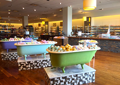 Park City Mall Location - Sunrise Soap Co.